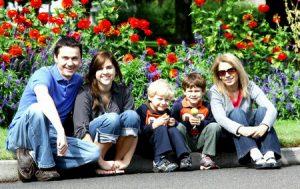 Profiter de l'été en famille